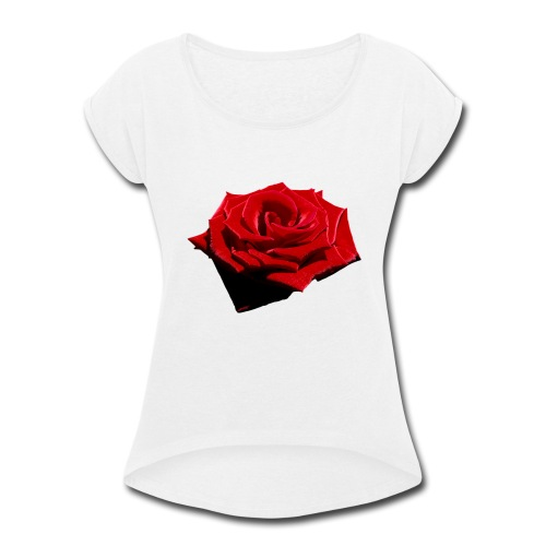 DeadRoses - Women's Roll Cuff T-Shirt