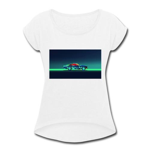 The Pro Gamer Alex - Women's Roll Cuff T-Shirt