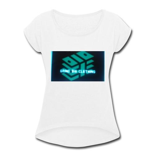 Grind Big Clothing - Women's Roll Cuff T-Shirt