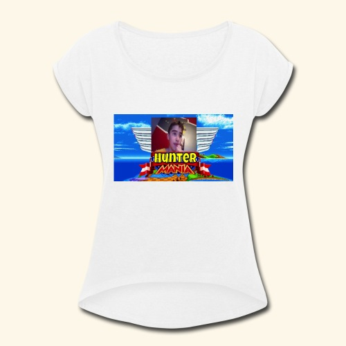 HUNTER MANIA - Women's Roll Cuff T-Shirt