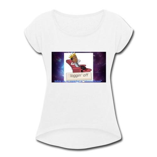 OT324 merch - Women's Roll Cuff T-Shirt