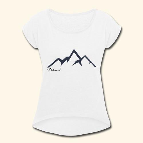 Redeemed - Women's Roll Cuff T-Shirt
