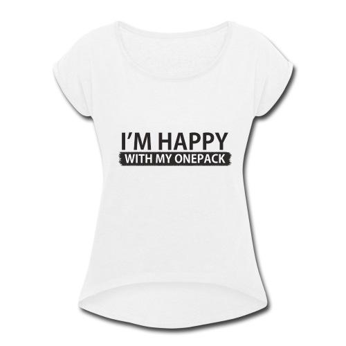 ONEPACK - Women's Roll Cuff T-Shirt