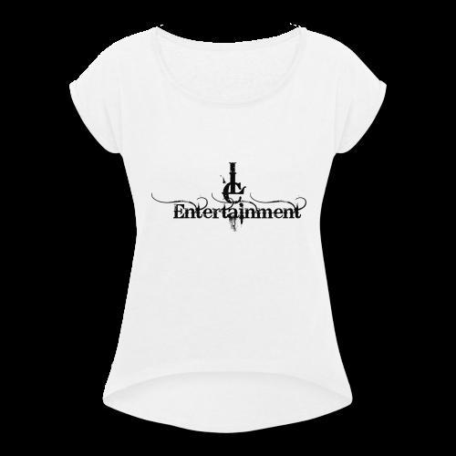 JLC Entertainment Paint - Women's Roll Cuff T-Shirt