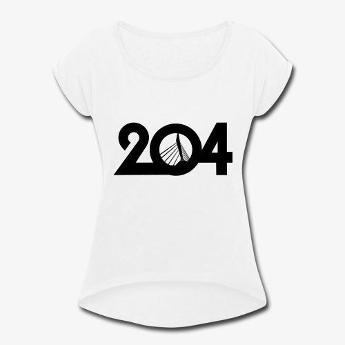 204 T-Shirt - Women's Roll Cuff T-Shirt