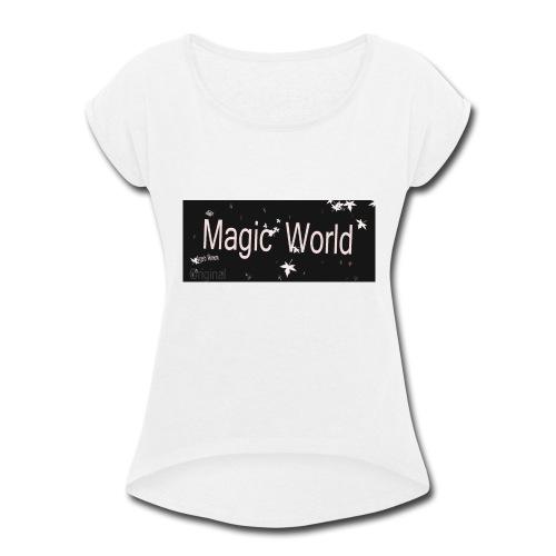 angelo Vernom - Women's Roll Cuff T-Shirt