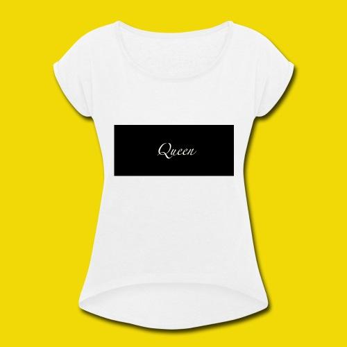 queen - Women's Roll Cuff T-Shirt
