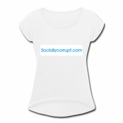 web address - Women's Roll Cuff T-Shirt