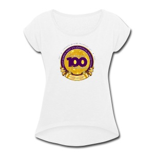 ONFJ Centennial Medallion - Women's Roll Cuff T-Shirt