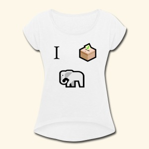 I voted Republican - Women's Roll Cuff T-Shirt