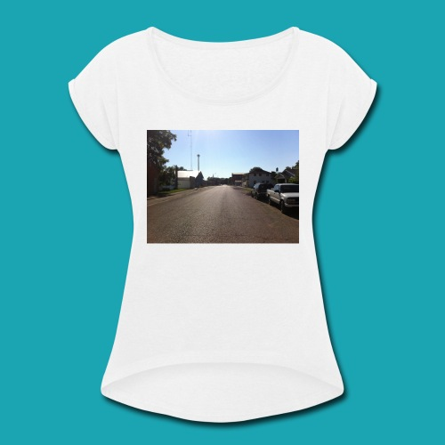 Vintage Road - Women's Roll Cuff T-Shirt