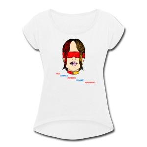 Blindness - Women's Roll Cuff T-Shirt