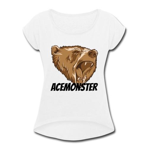 Acemonster - Women's Roll Cuff T-Shirt