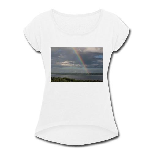 olisabert - Women's Roll Cuff T-Shirt