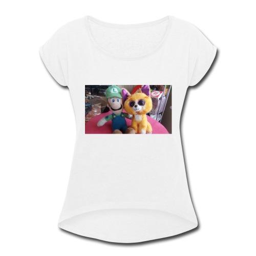 Lughiandpablo@gmail.com - Women's Roll Cuff T-Shirt