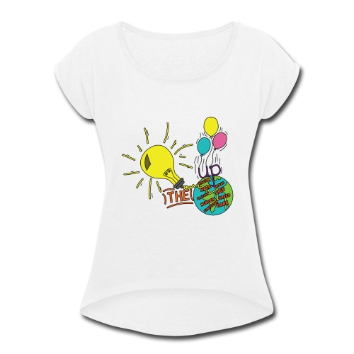 Light Up The World - Women's Roll Cuff T-Shirt