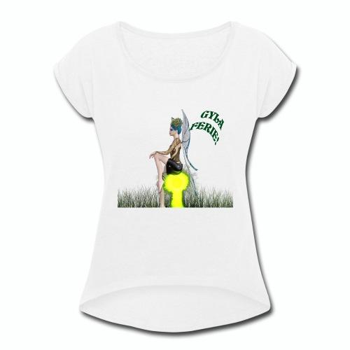 Gyla Collection - Women's Roll Cuff T-Shirt