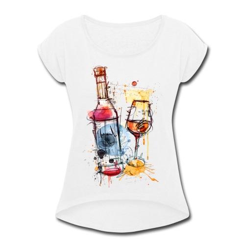 Art 2018 - Women's Roll Cuff T-Shirt