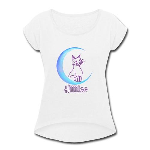 Luna Moona - Women's Roll Cuff T-Shirt