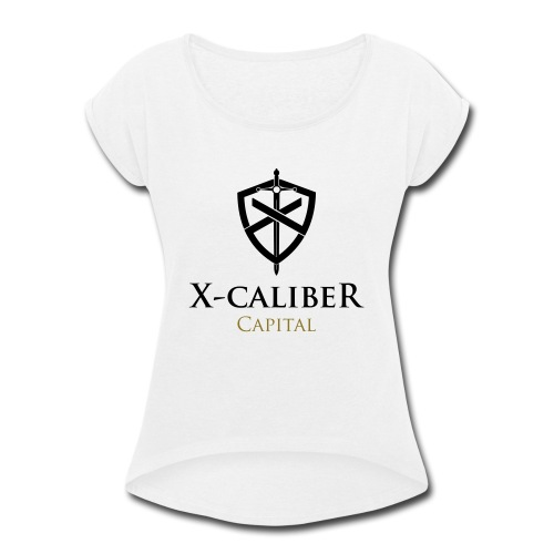 X-Caliber Capital - Women's Roll Cuff T-Shirt