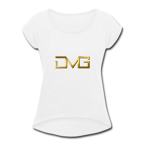 JMG Gold - Women's Roll Cuff T-Shirt