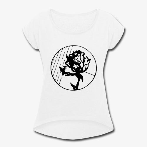 BlackFlower - Women's Roll Cuff T-Shirt