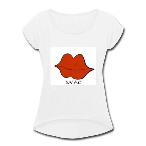 20180925 181125 - Women's Roll Cuff T-Shirt