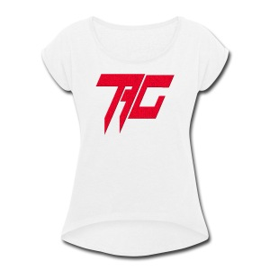 Tag Logo - Women's Roll Cuff T-Shirt