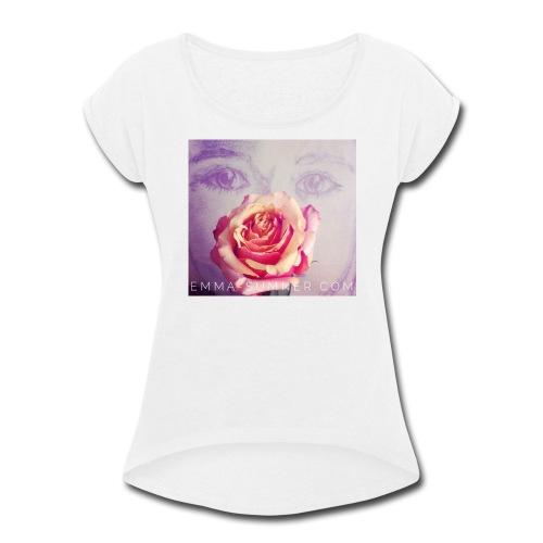 Innocent Heart - Women's Roll Cuff T-Shirt