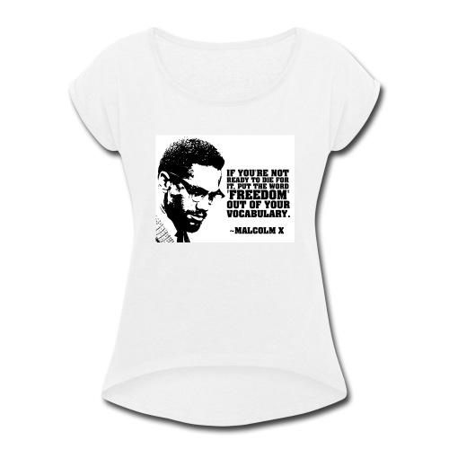 IMG_0051 - Women's Roll Cuff T-Shirt