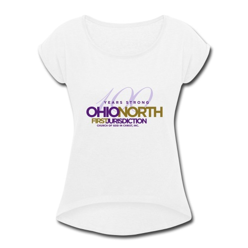 ONFJ Centennial Marketplace - Women's Roll Cuff T-Shirt