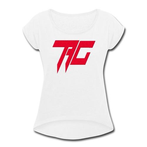 Tag Logo - Women's Roll Cuff T-Shirt