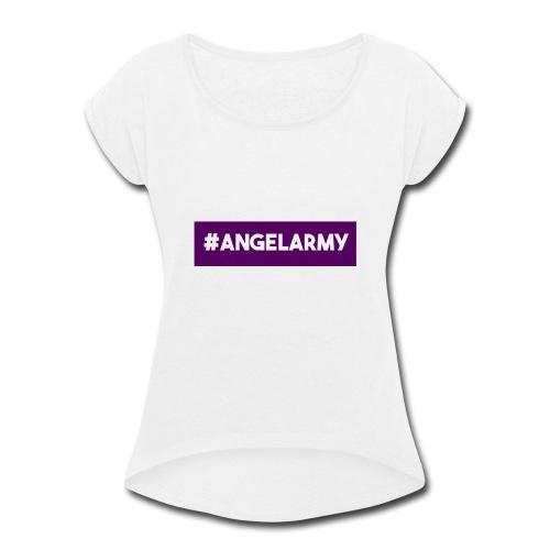 The Angel Army - Women's Roll Cuff T-Shirt