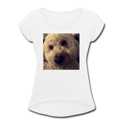 Dog Lover - Women's Roll Cuff T-Shirt