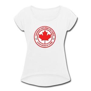 Canadians - Women's Roll Cuff T-Shirt