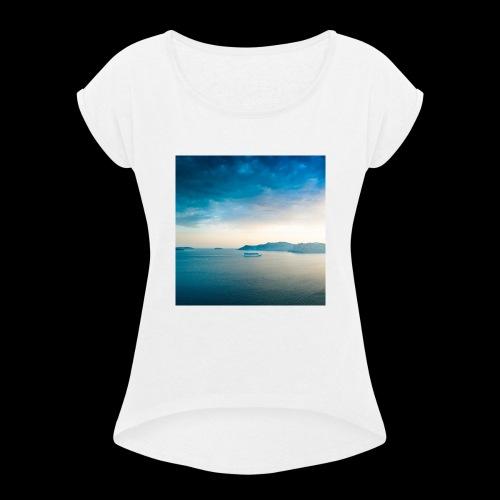 Beach - Women's Roll Cuff T-Shirt