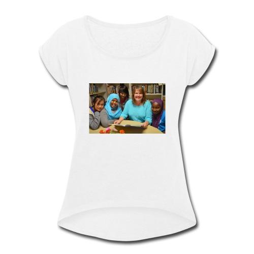 DSC_0677-1024x678 - Women's Roll Cuff T-Shirt