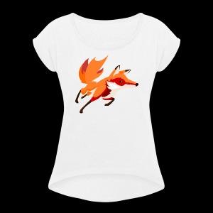 JBFox#2 - Women's Roll Cuff T-Shirt
