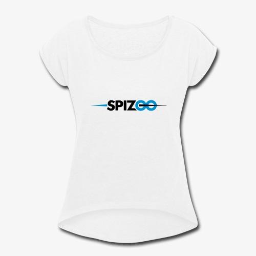 Spizoo Official logo - Women's Roll Cuff T-Shirt