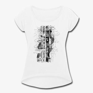 Tee House - Women's Roll Cuff T-Shirt