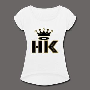 hk - Women's Roll Cuff T-Shirt