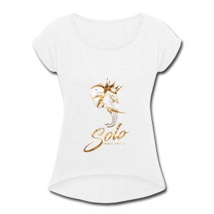 Solo Music Group - Women's Roll Cuff T-Shirt