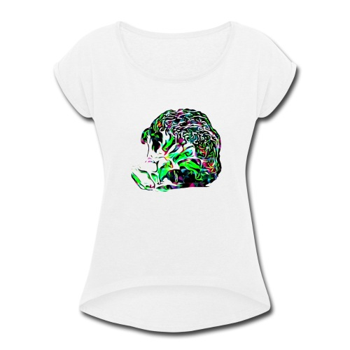 O Kale No - Women's Roll Cuff T-Shirt
