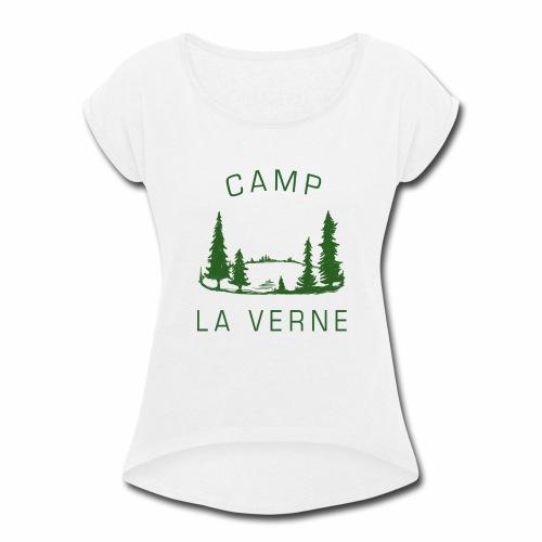 Camp La Verne - Women's Roll Cuff T-Shirt