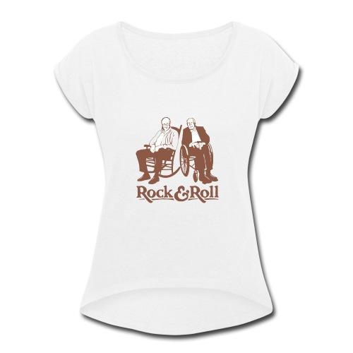 Rock and Roll T-Shirt - Women's Roll Cuff T-Shirt