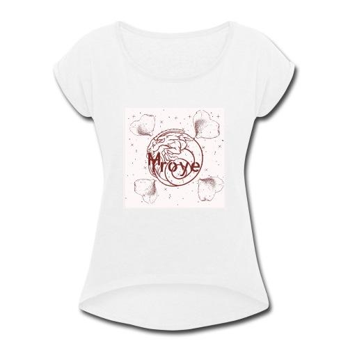malover troye shirt with logo - Women's Roll Cuff T-Shirt
