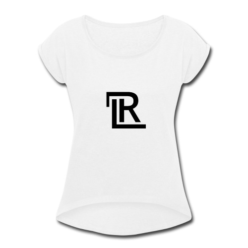 RL LOGO - Women's Roll Cuff T-Shirt