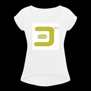 3P white - Women's Roll Cuff T-Shirt