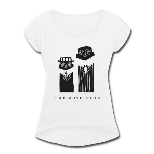ZUZU_CLUB - Women's Roll Cuff T-Shirt