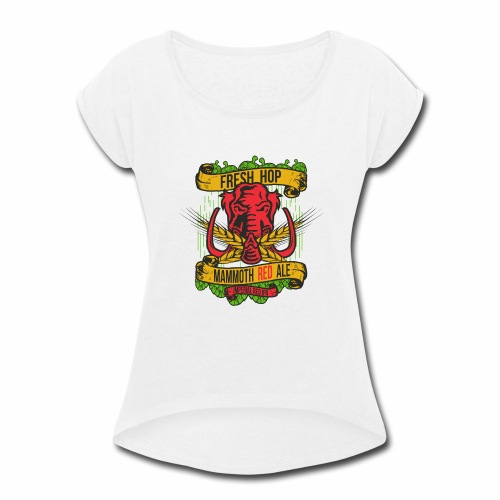 Red Ale - Women's Roll Cuff T-Shirt